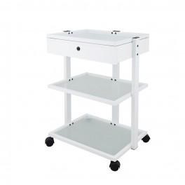 Rullbord för kosmetologer med låda Facile Plus