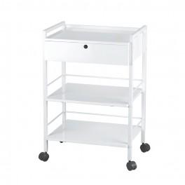 Rullbord för kosmetologer med låda Easy